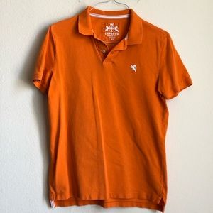Express Modern Fit Small Lion Pique Polo (A)